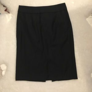 Black no.2 pencil skirt